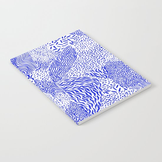Blue sand Notebook
