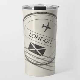 I love the traditional means of communication.  The handwritten message when travel was not as easy. Travel Mug