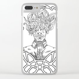 He. Art Nouveau. Clear iPhone Case