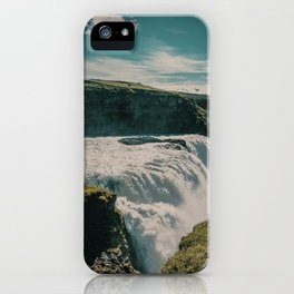 iceland waterfall iPhone Case