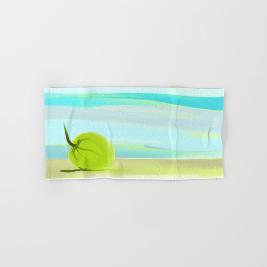 tropic beach Hand & Bath Towel