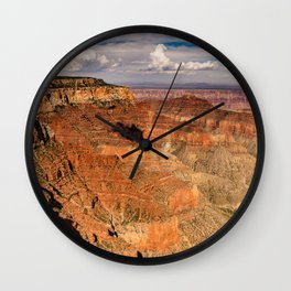North_Rim Grand_Canyon, Arizona - III Wall Clock