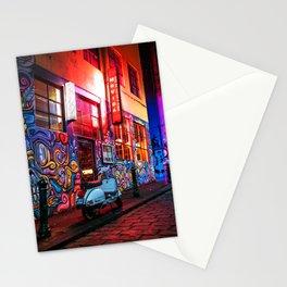 Evening in Hosier Lane Stationery Cards