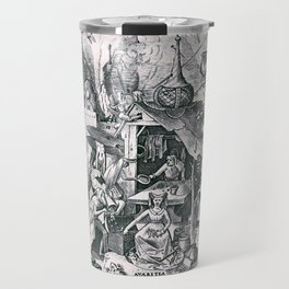 Greed, one of the Seven Deadly Sins Travel Mug