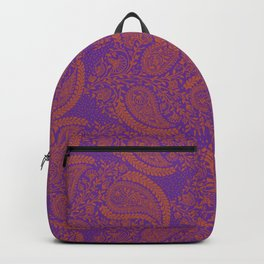 Paisley Pattern One Backpack