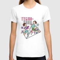 tegan and sara T-shirts featuring Tegan & Sara by nathan wellman