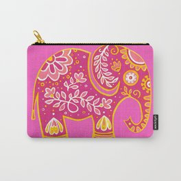 the magic elephant ... pink Carry-All Pouch