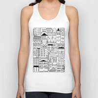 cityscape Tank Tops featuring cityscape by Anna Grunduls