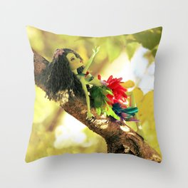 FAIRY Scout in Love Throw Pillow
