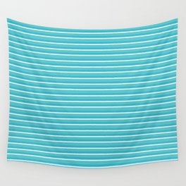 Lemoncello Striped Wall Tapestry