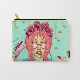 Girl and the blood Carry-All Pouch