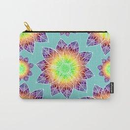 Boho Mandala Flowers Carry-All Pouch