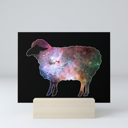 Psychedelic Sheep of the Family (3) Mini Art Print
