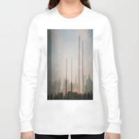 industrial Long Sleeve T-shirts featuring industrial by cristiana