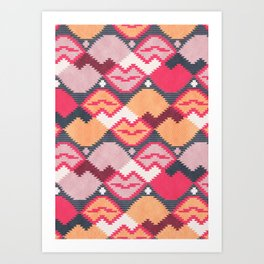 "Those lips are ""kilim"" me Art Print"