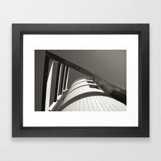 IN POINT Framed Art Print