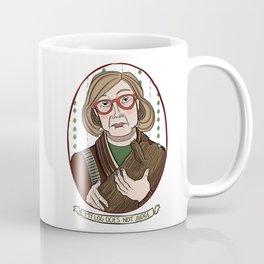 My Log Does Not Judge (But I Do) Coffee Mug