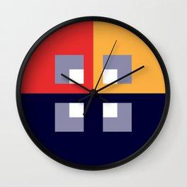 FLAT 4 Wall Clock