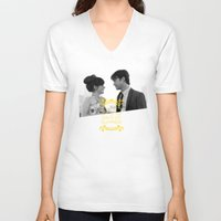 500 days of summer V-neck T-shirts featuring 500 days of Summer by Lucas Preti