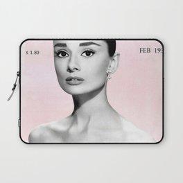 Audrey Hepburn print Laptop Sleeve
