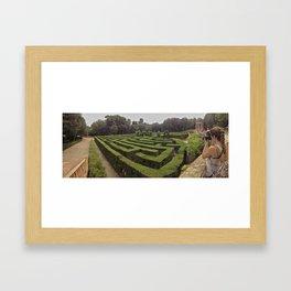 lose yourself Framed Art Print