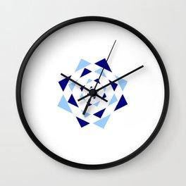Star of David 36- Jerusalem -יְרוּשָׁלַיִם,israel,hebrew,judaism,jew,david,magen david Wall Clock