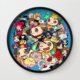 7th Anniversary Wall Clock