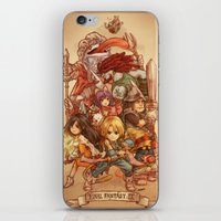 final fantasy iPhone & iPod Skins featuring Final Fantasy IX by Dice