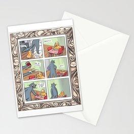 Manfood Comic Stationery Cards
