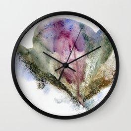 Vulva Flower Wall Clock
