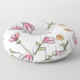 SPRING IS IN THE AIR Floor Pillow