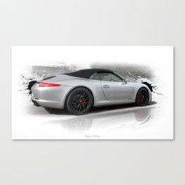 Cars: 911 Porsche Carrera GTS Canvas Print