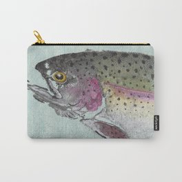 Rainbow Trout - Gyotaku Carry-All Pouch