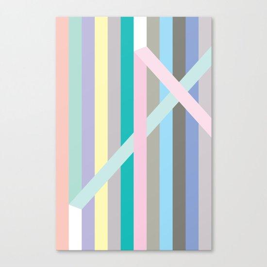 Finespun Stripes Canvas Print