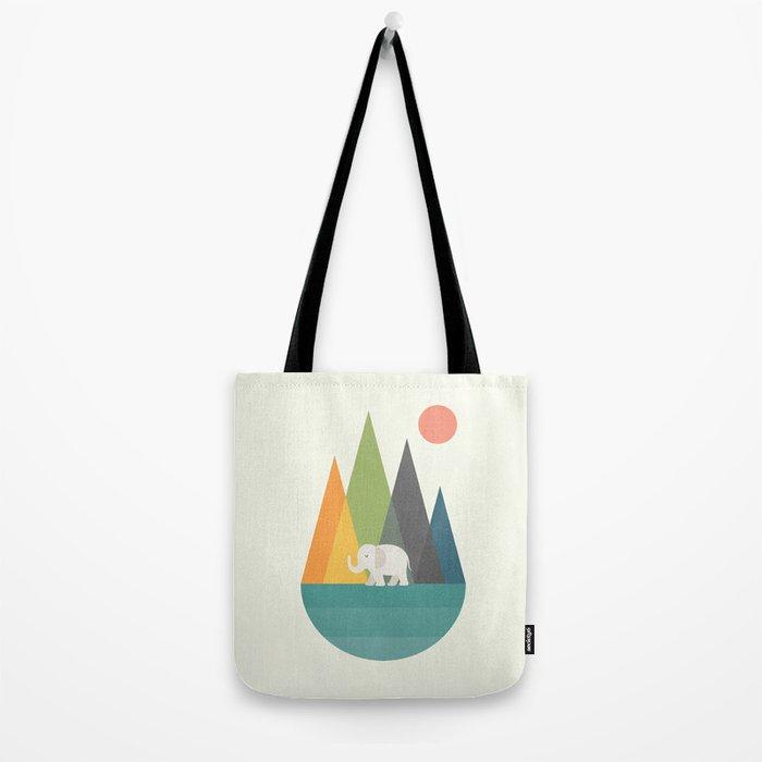 Walk In Peace Tote Bag
