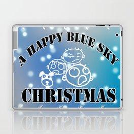 My happy Blue Christmas! Laptop & iPad Skin