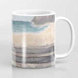 Steps to the Sea - Original Art Coffee Mug