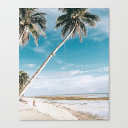 Siquijor beach Canvas Print