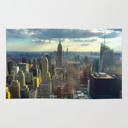 View Of New York City Rug