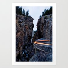 Sinclair Canyon Art Print