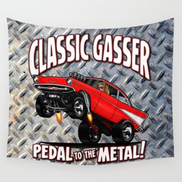 1957 Classic Chevy Gasser Wall Tapestry