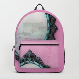 Mirror Mirror on the Wall Pink Backpack