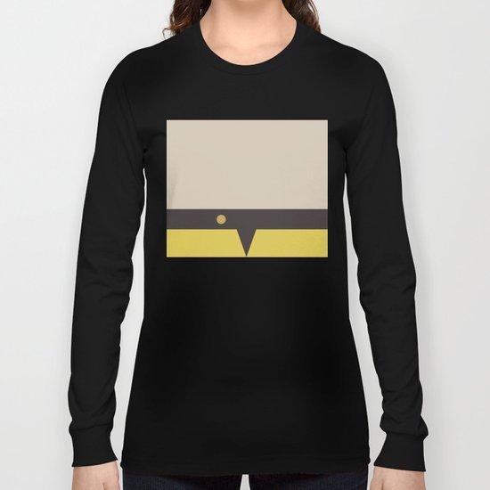 Harry Kim -Minimalist Star Trek Voyage VOY - Ensign Kim - Delta Quadrant - startrek Trektangles Long Sleeve T-shirt