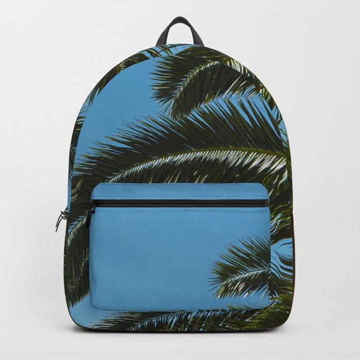 Tropical landscape Backpack