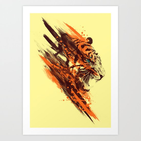 tigra Art Print