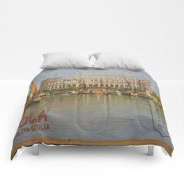Vintage poster - Italy Comforters