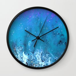Space Battle 2 Wall Clock