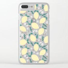 Pink Lemonade Clear iPhone Case