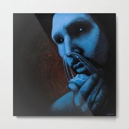 Cocaine Blue Metal Print