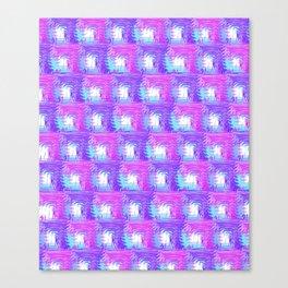 Purple Pink Canvas Print